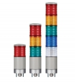 Qlight ST45ML-Ex 24V Explosion-proof Signal Tower 1 to 5 LEDs, nRⅡT4 Ex zone 2