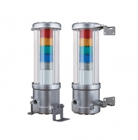 Qlight, QTEX 24VDC ATEX Explosion Proof LED Tower Lights with Flame Proof Housing, 1 to 5 stacks