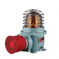 Qlight Explosion proof LED Revolving light and electric horn | SESALR-WS-230-R-ATEX