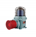 Qlight Atex Xenon Strobe warning light + electric siren | SESAS-WS-24-ATEX